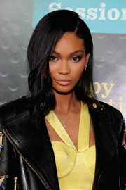 Chanel Iman showed off flawlessly styled waves at the Sprint Sound Sessions.