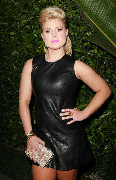 More Pics of Kelly Osbourne Gold Studs (1 of 39) - Kelly Osbourne Lookbook - StyleBistro