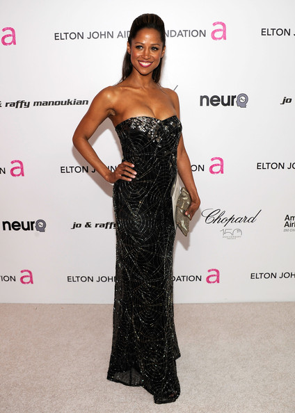 Stacey Dash Metallic Clutch