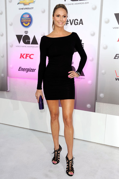 Stacy Keibler Little Black Dress