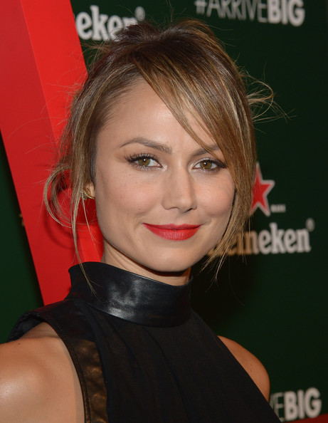 Stacy Keibler Messy Updo