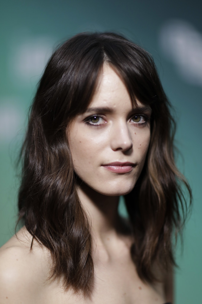 Stacy Martin Medium Wavy Cut With Bangs Stacy Martin