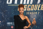 Sonequa Martin-Green Little Black Dress