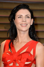 Liberty Ross topped off her look with punky waves when she attended the Vanity Fair Oscar party.