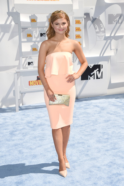 Stefanie Scott Metallic Clutch