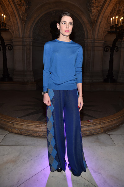 Charlotte Casiraghi at Stella McCartney