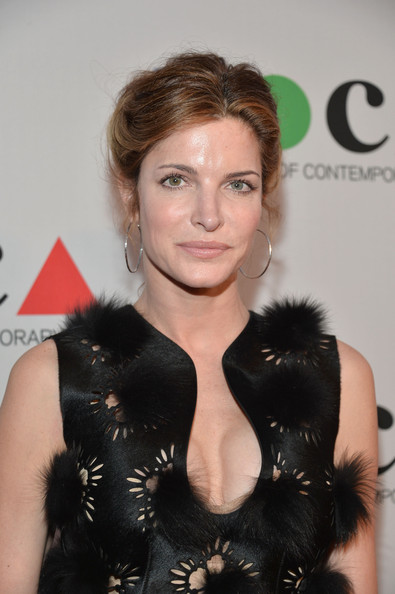 Stephanie Seymour Bobby Pinned Updo