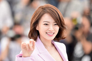 Chun Woo-Hee sported a cute bob at the Cannes photocall for 'The Strangers.'