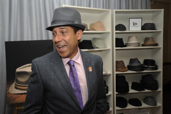 Oscar seemed really happy with his gray fedora.