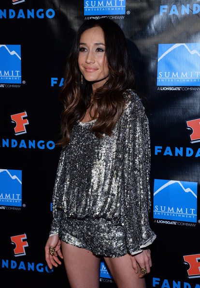 More Pics of Maggie Q Long Wavy Cut (1 of 16) - Long Wavy Cut Lookbook - StyleBistro
