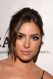 Olivia Culpo proved messy could be gorgeous with this updo!