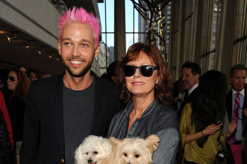 Susan Sarandon Chris Benz Chris Benz - Front Row - Spring 2013 Mercedes-Benz Fashion Week
