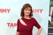 Susan Sarandon Cutout Dress