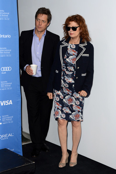 Susan Sarandon Print Dress