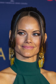 Princess Sofia attended the Sweden Sports Gala 2020 wearing her hair in a ponytail with face-framing strands.