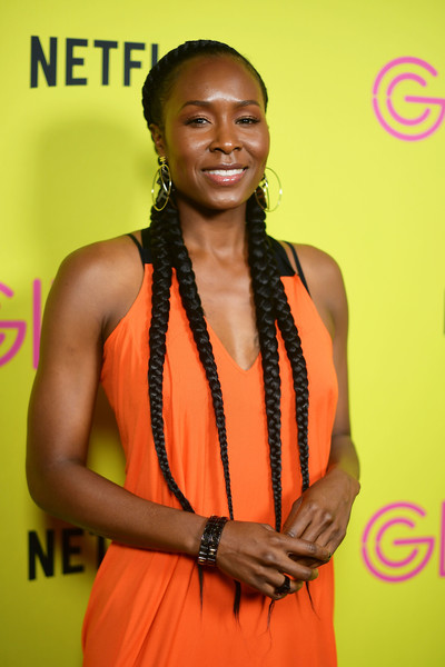 Sydelle Noel Long Braided Hairstyle