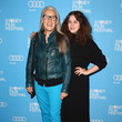 Jane Campion and Alice Englert