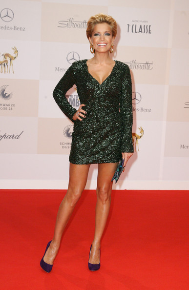 Sylvie van der Vaart Beaded Dress