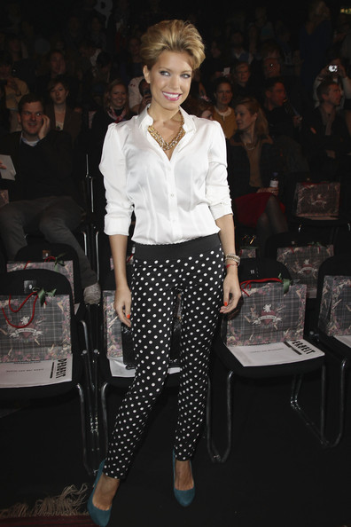 Sylvie van der Vaart Button Down Shirt