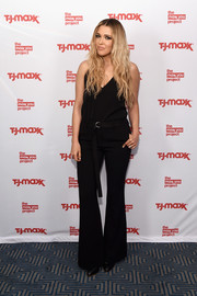 Rachel Platten wore a simple black cami to the T.J. Maxx event.