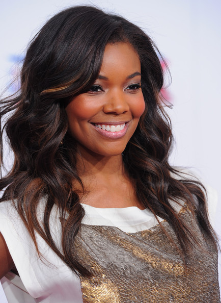 Black Hair With Dark Brown Highlights - Celebrity Hair - StyleBistro