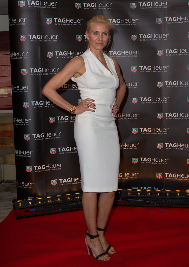 Cameron Diaz attends the TAG Heuer Host 2013 Monaco Grand Prix Party on May 25, 2013 in Monaco, Monaco.