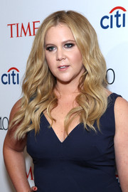 Amy Schumer wore beach-chic waves at the Time 100 Gala.