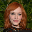 Christina Hendricks' Layered Lob