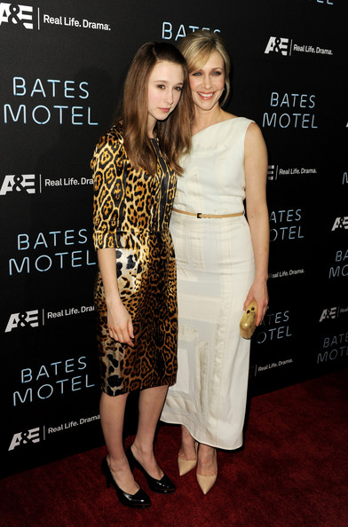 Taissa Farmiga Print Dress