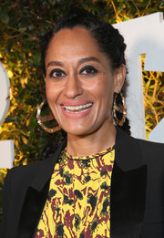 Tracee Ellis Ross looked funky with her triple French braids during Take-Two's E3 kickoff party.