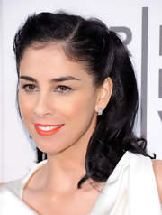 Sarah Silverman wore her hair in a sweet retro-inspired half-up style for the premiere of 'Take This Waltz' at the 2012 Tribeca Film Festival
