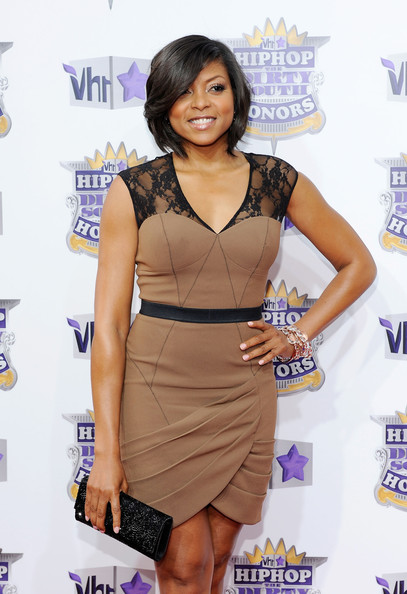 Taraji P. Henson Sequined Clutch