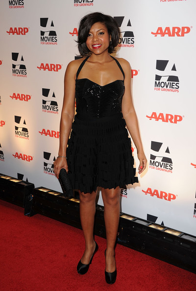 Taraji P. Henson Little Black Dress