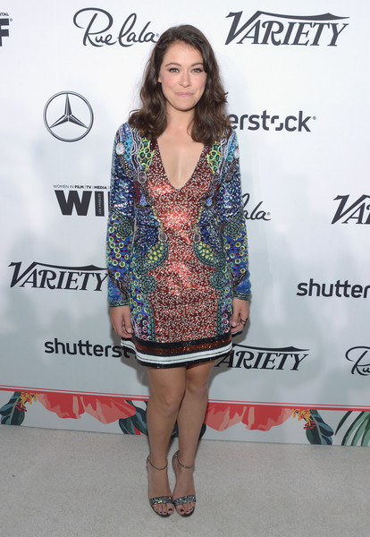 Tatiana Maslany Evening Sandals