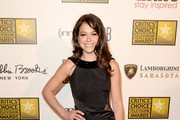 Tatiana Maslany Little Black Dress