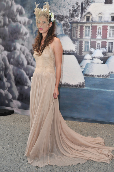 Tatiana Santo Domingo Evening Dress