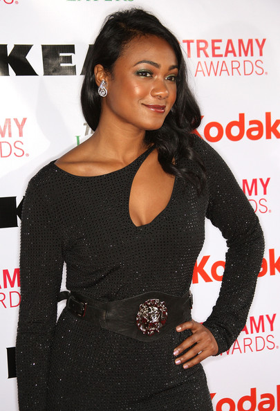 Tatyana Ali Leather Belt
