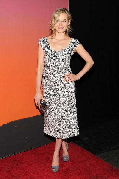 Taylor Schilling Beaded Clutch [clothing,dress,cocktail dress,red carpet,fashion model,carpet,premiere,fashion,hairstyle,flooring,taylor schilling,louis vuitton,arrivals,skylight,moynihan station,new york city,party,whitney museum of american art gala studio]