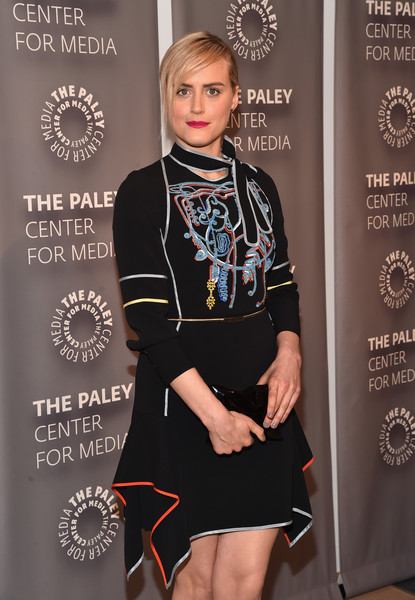 Taylor Schilling Hard Case Clutch
