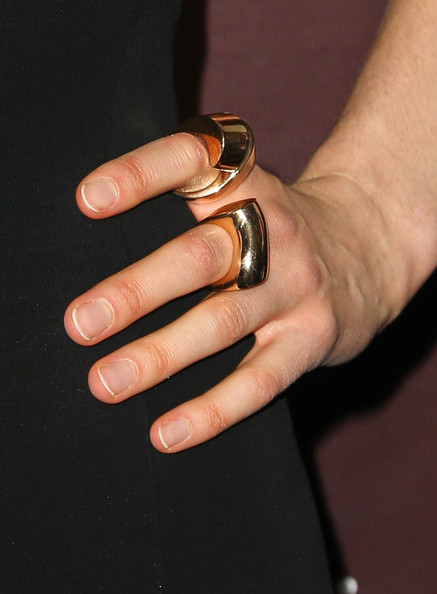 Taylor Schilling Statement Ring [finger,nail,hand,ring,nail polish,nail care,manicure,thumb,material property,wedding ring,taylor schilling,ring detail,hollywood reporters next gen 20th anniversary gala - arrivals,hammer museum,california,westwood,the hollywood reporters next gen 20th anniversary gala]