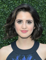 Laura Marano kept it short and sweet with this wavy 'do at the Ted Baker Spring 2017 launch.
