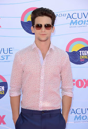 Daren kagasoff style fashion looks stylebistro for Wiz khalifa button down shirt