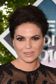 Lana Parrilla opted for a classic loose updo when she attended the Teen Choice Awards 2016.