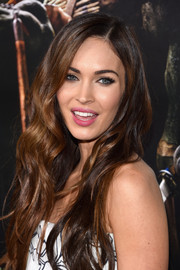 Megan Fox looked absolutely divine with her gorgeous flowing waves at the 'Teenage Mutant Ninja Turtles' premiere in NYC.