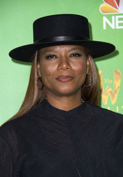 Queen Latifah jazzed up her look with this black porkpie hat for the 'Wiz Live!' Television Academy event.