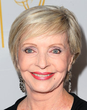 Florence Henderson attended the Television Academy's Performers Peer Group celebration wearing a short side-parted hairstyle.