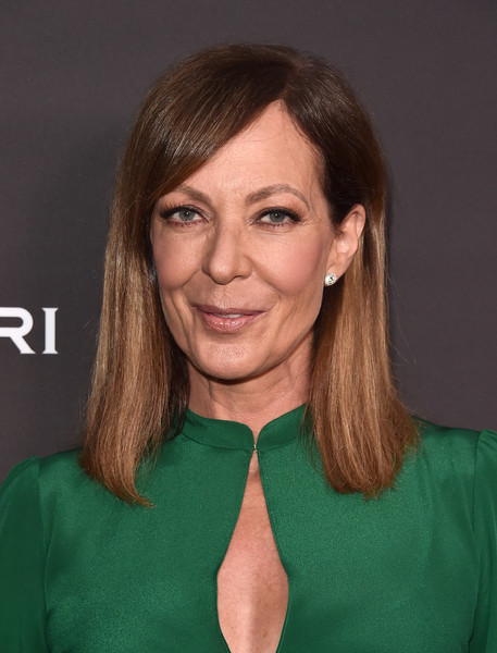 Allison Janney went for a simple straight cut with side-swept bangs when she attended the Television Academy's performers peer group celebration.