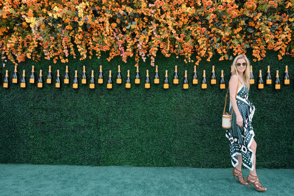 More Pics of Nicky Hilton Halter Dress (2 of 4) - Dresses & Skirts Lookbook - StyleBistro [green,tree,leaf,fashion,grass,autumn,plant,dress,street fashion,flooring,arrivals,jersey city,new jersey,liberty state park,veuve clicquot polo classic,nicky hilton]