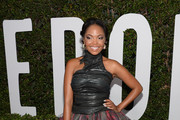 Terry Pheto Halter Dress