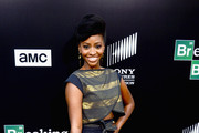 Teyonah Parris Crop Top